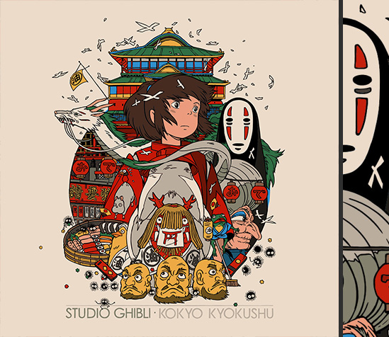 Tyler Stout s Studio Ghibli Posters. 1734-ghibli howls  1735-ghibli catreturns 1733-ghibli spirited ... b7e0a8cc85