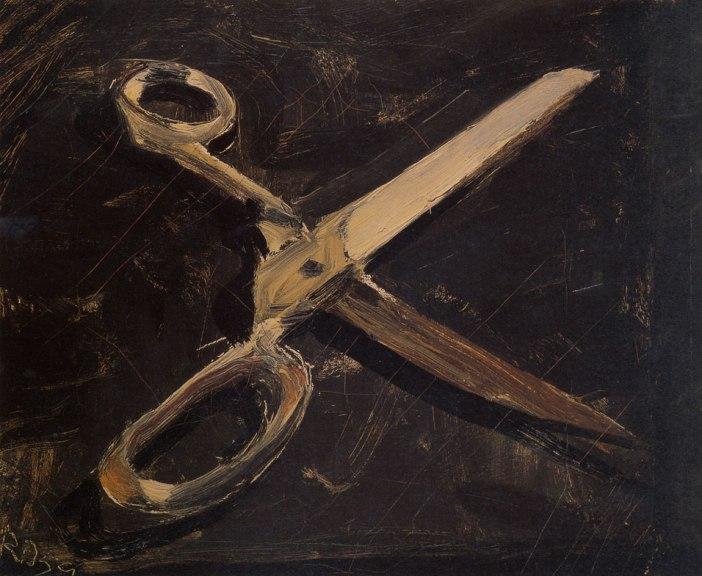 Scissors, Richard Diebenkorn