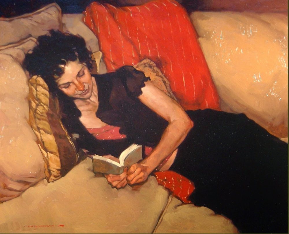 Lorusso, Joseph (1966-...) Reading the sonnet