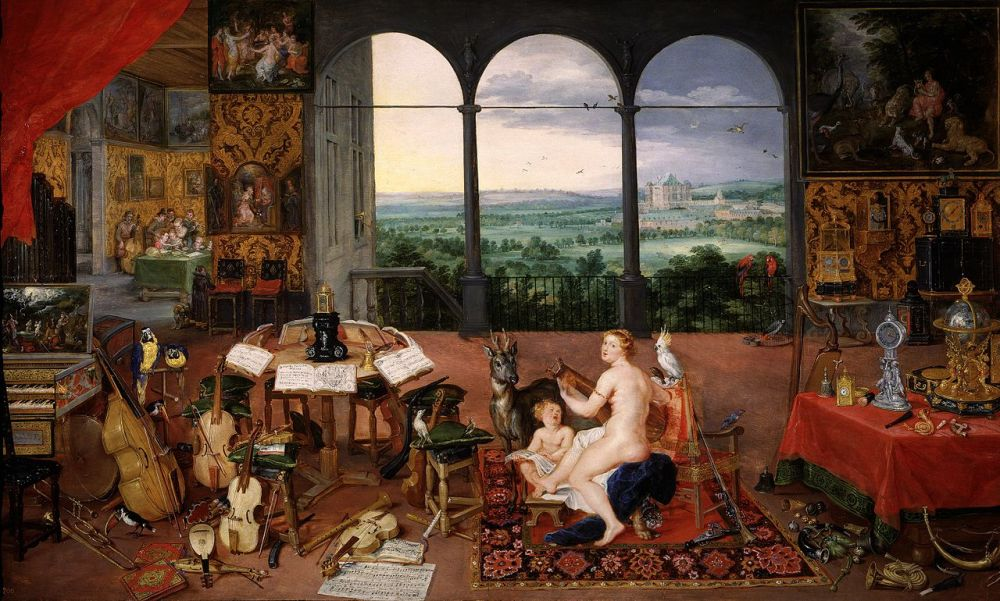 Jan_Brueghel_I_&_Peter_Paul_Rubens_-_Hearing_(Museo_del_Prado)