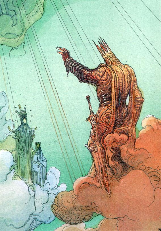 Moebius -- Deima Color, in Pablo Nogueras's Moebius Comic Art ...
