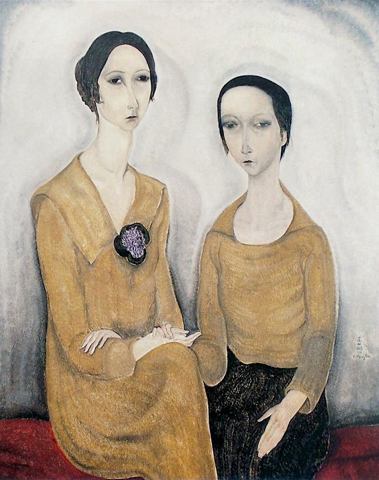二人の女-Two-women-1918