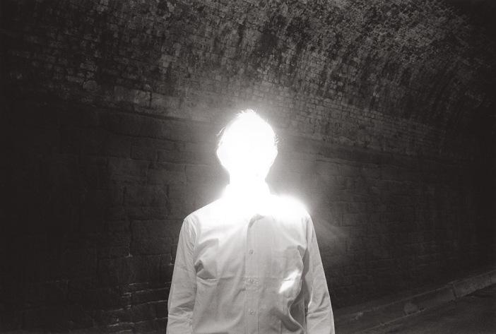 Duane Michals, The Illuminated Man, 1968. © Duane Michals, Court