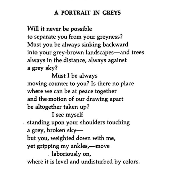 poem of william caslos william essay But his work wasn't limited to poetry itself over the years, williams contributed  various critical essays to this magazine on a wide range of topics.