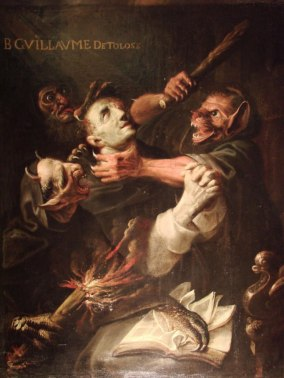 The Blessed Guillaume de Toulouse Tormented by Demons — Ambroise Frédeau –  Biblioklept