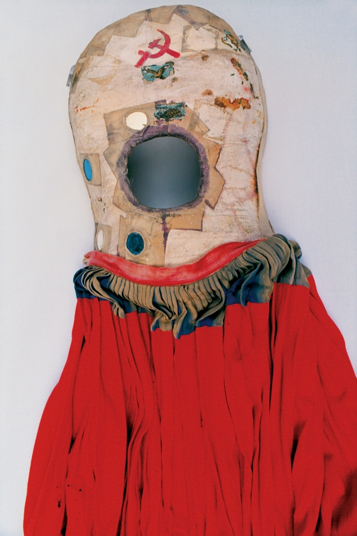 One of Frida Kahlo's full body casts, which she painted
