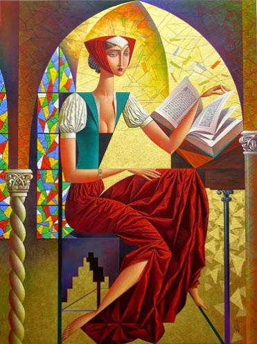 Georgy Kurasov Gothic Novel 40 x 30