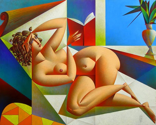 Georgy Kurasov Odalesque 32 x 40