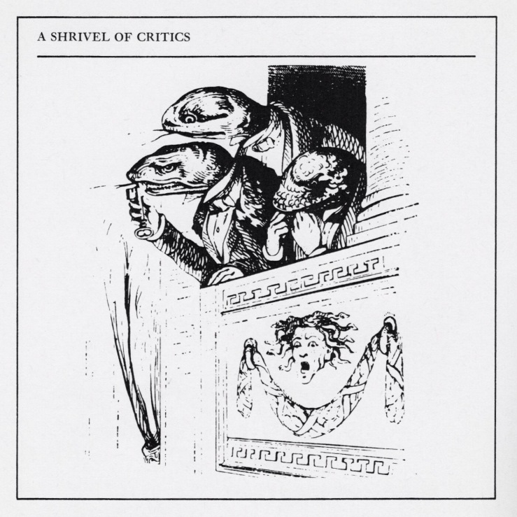 A Shrivel of Critics, James Lipton, 1968