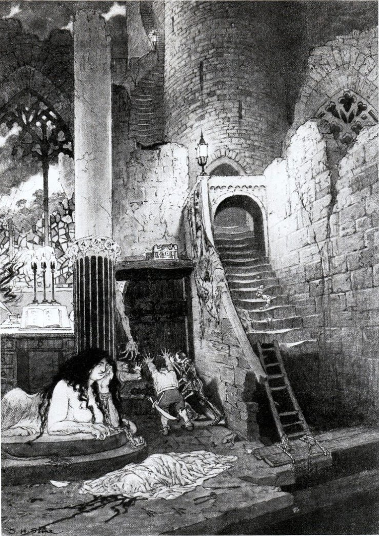 Sidney_Sime-The_House_of_the_Sphinx-sm