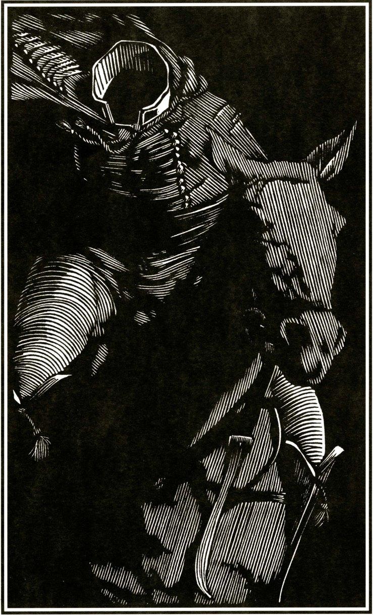The Headless Horseman, Barry Moser