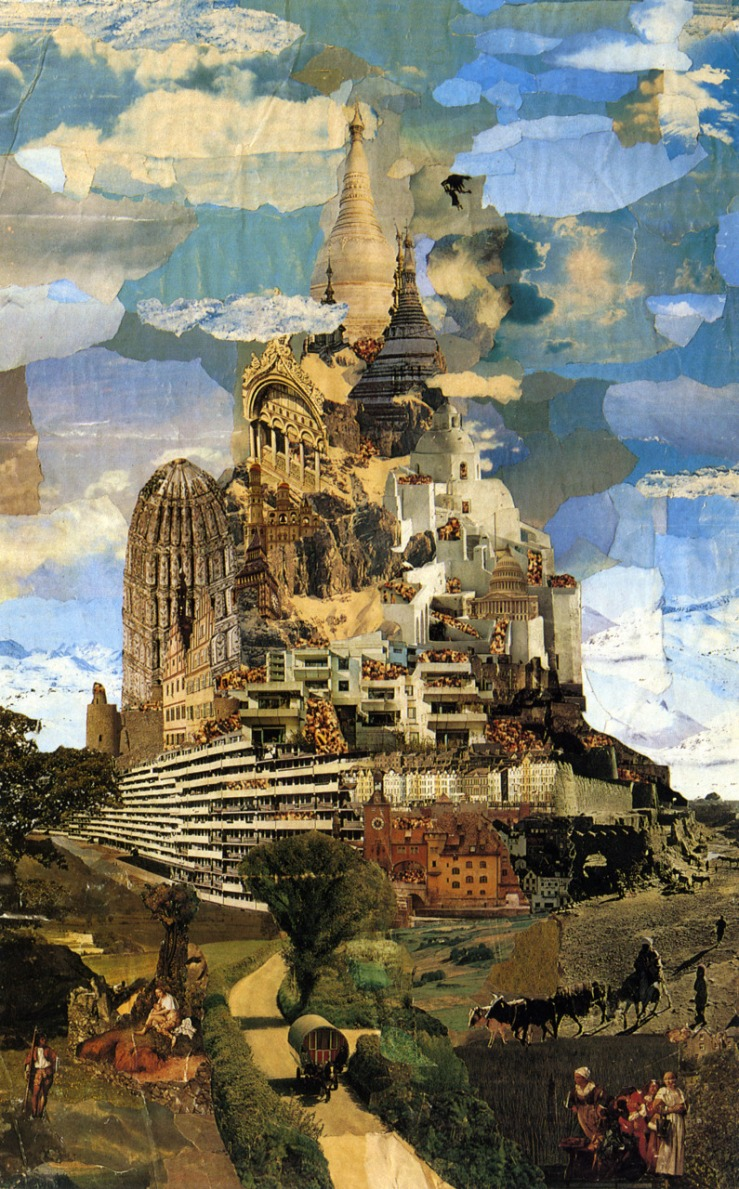nils-ole-lund-02-The-Tower-of-Babel-After-1970