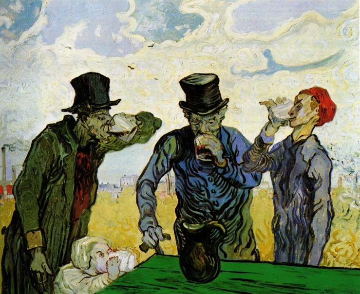 the-drinkers-after-daumier-1890
