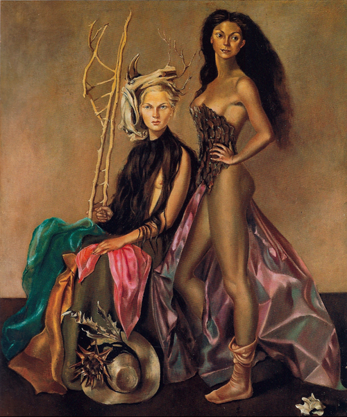 Leonor Fini-They Like to Dress-1948