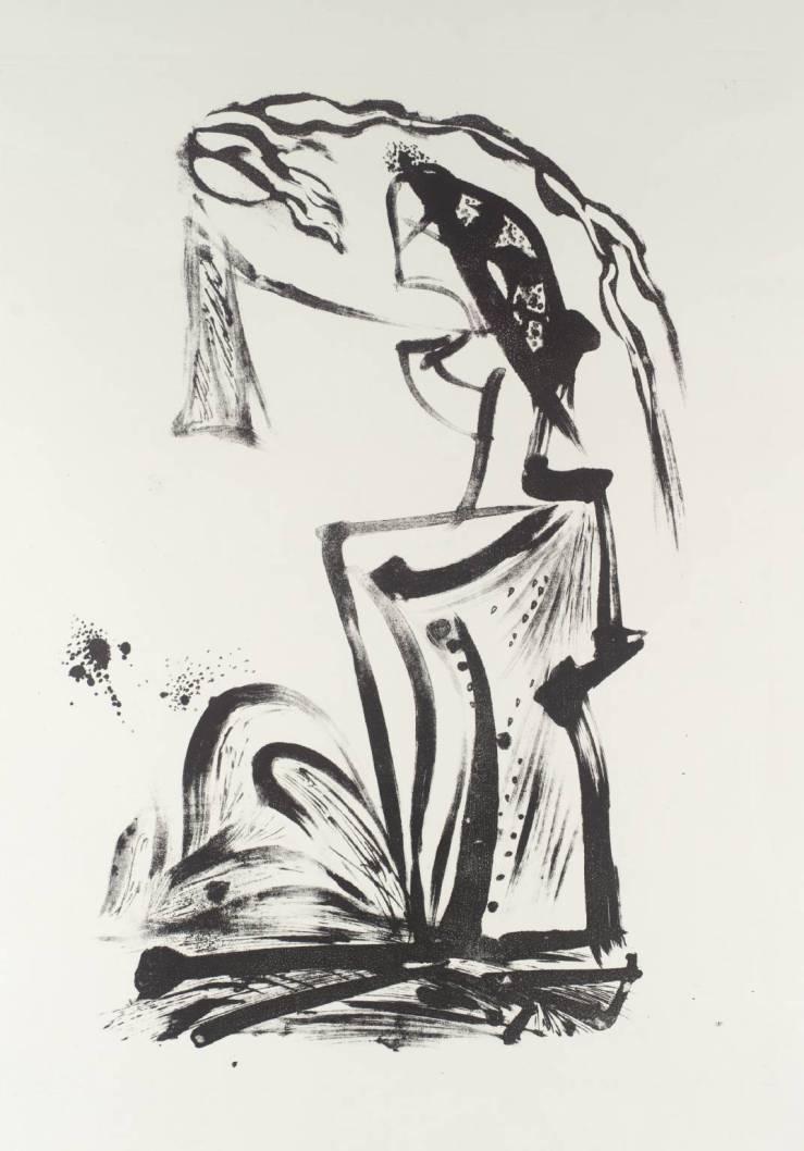 Sybil 1960 by Cecil Collins 1908-1989