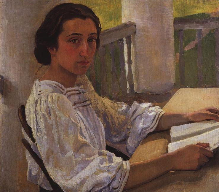 serebriakova_portrait-of-e-solntseva-sister-of-artist-1914