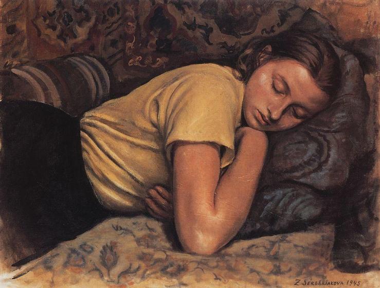 sleeping-katya-1945