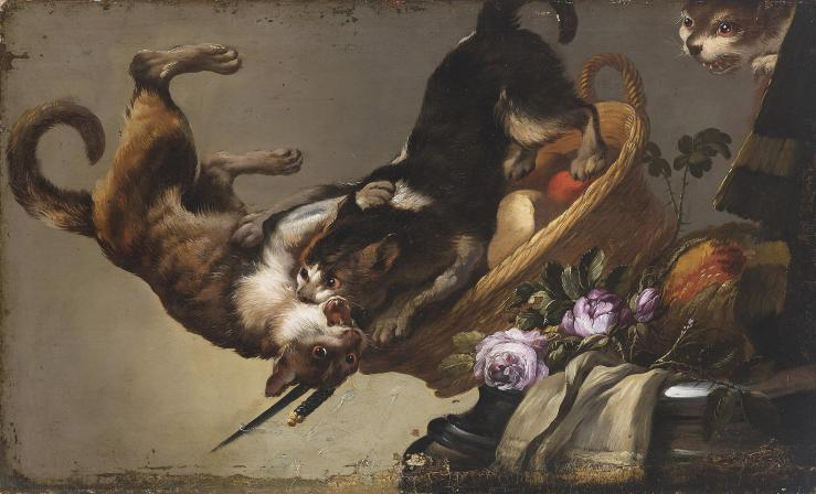frans_snyders_workshop_kc3a4mpfende_katzen
