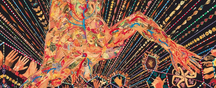 Organism (detail), Fred Tomaselli