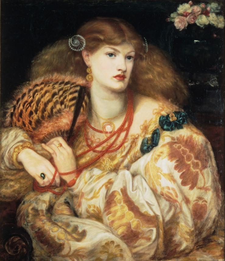 Dante Gabriel Rossetti: Monna Vanna, 1866.