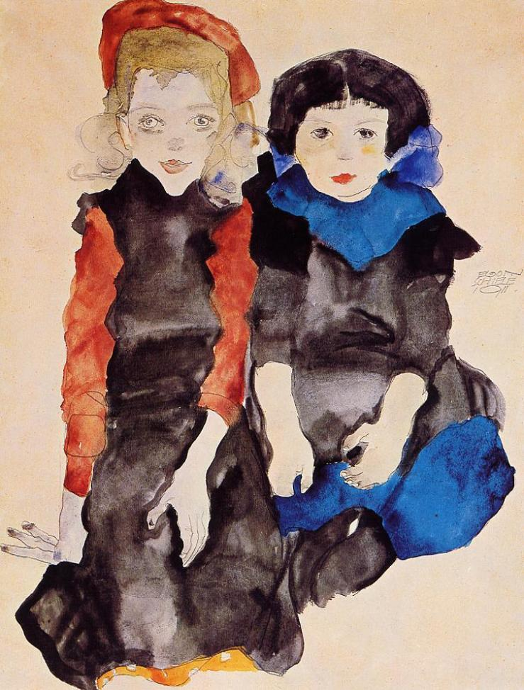 two-little-girls-1911