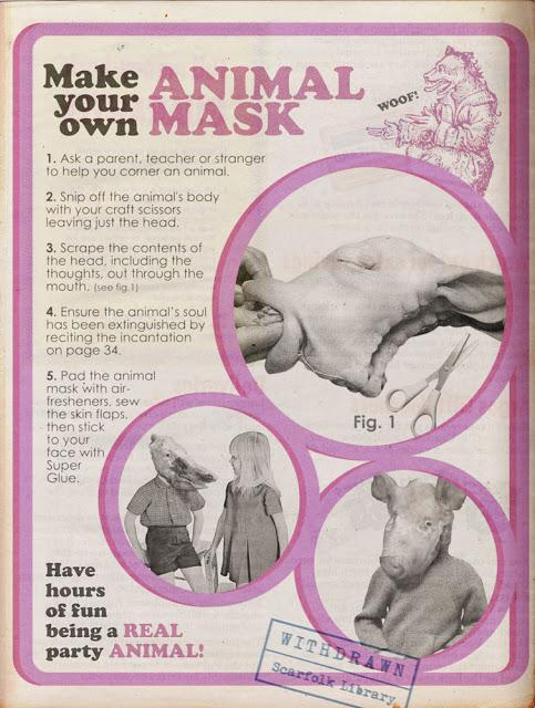 Make Your Own Animal Mask – Biblioklept