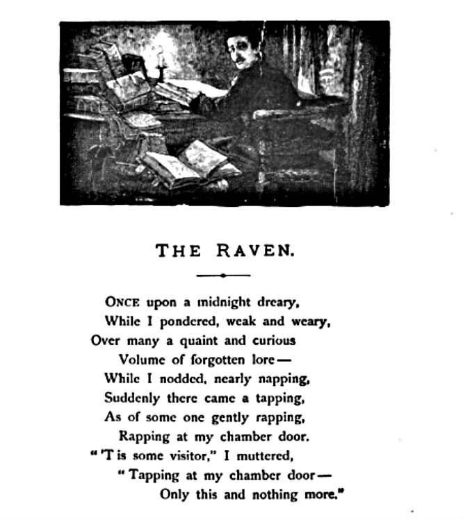 poetry analysis essay on the raven Essays and criticism on edgar allan poe's the raven - the raven, edgar allan poe  between poe's famous poem and the essay,  essay, freedman conducts an analysis of structure .