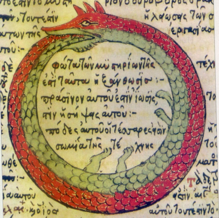 Ouroboros, Codex Parisinus, 1478