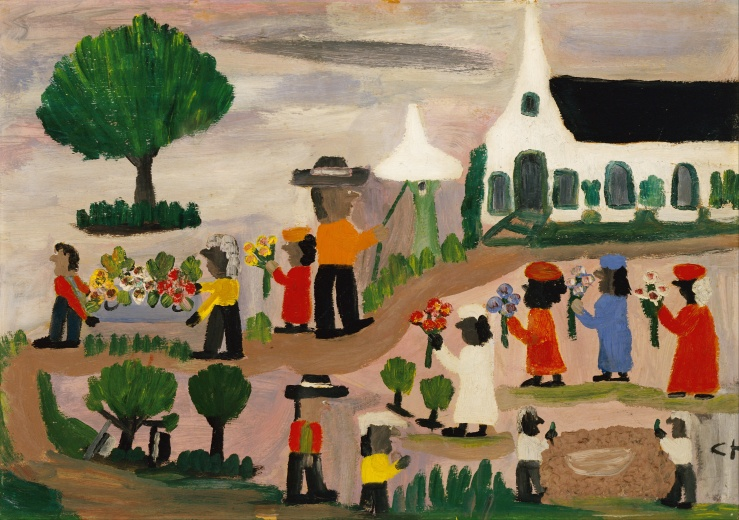 clementine_hunter_-_funeral_procession_-_google_art_project