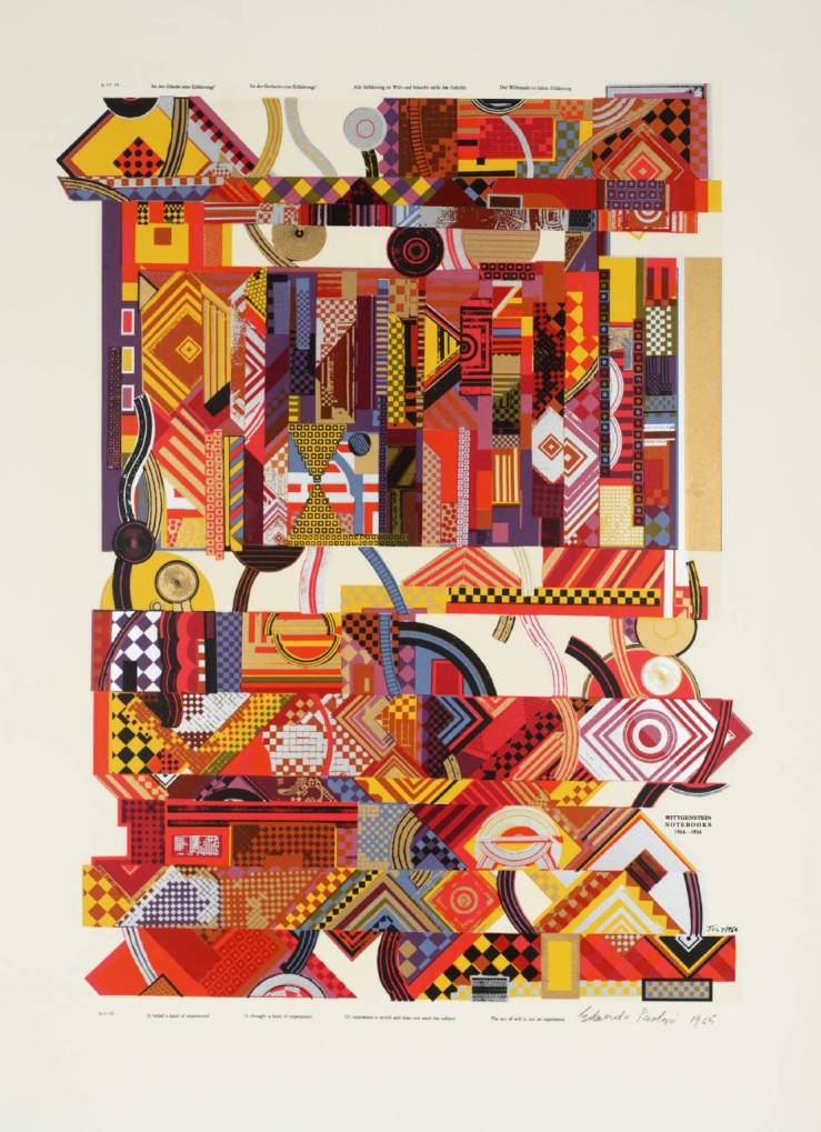 Experience 1964 by Sir Eduardo Paolozzi 1924-2005