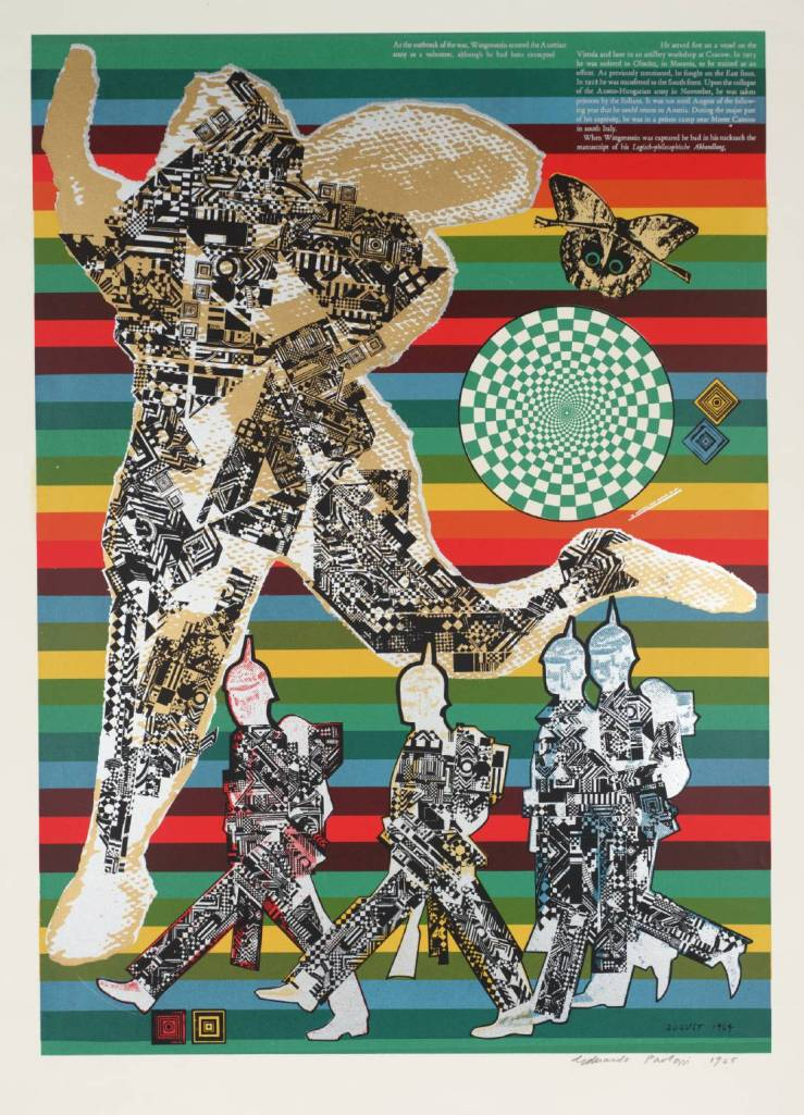 Wittgenstein the Soldier 1964 Sir Eduardo Paolozzi 1924-2005 Presented by Rose and Chris Prater through the Institute of Contemporary Prints 1975 http://www.tate.org.uk/art/work/P04768