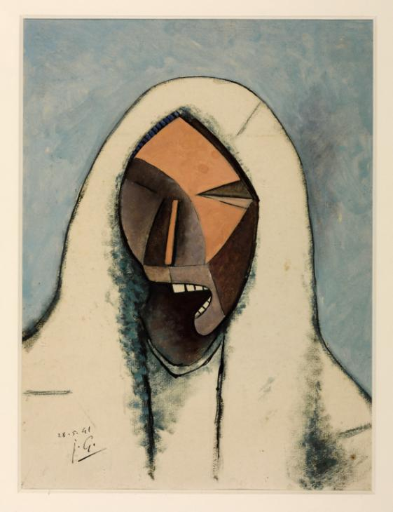 Screaming Head with a White Veil 1941 Julio Gonz?lez 1876-1942 Presented by Mme Roberta Gonzalez-Richard, the artist's niece 1972 http://www.tate.org.uk/art/work/T01631