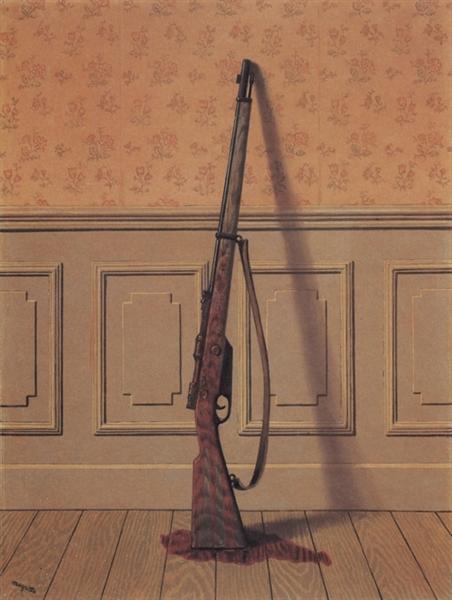 & The Survivor \u2014 Rene Magritte \u2013 Biblioklept