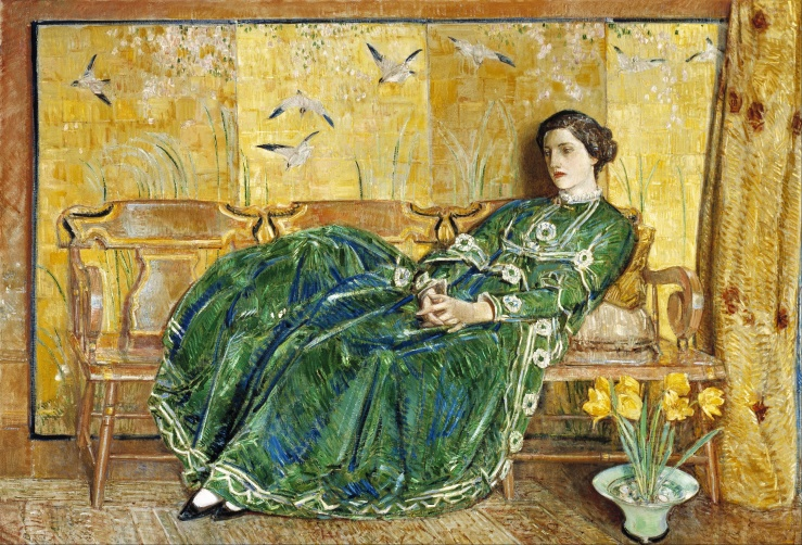 Childe_Hassam_-_April_-_(The_Green_Gown)_-_Google_Art_Project