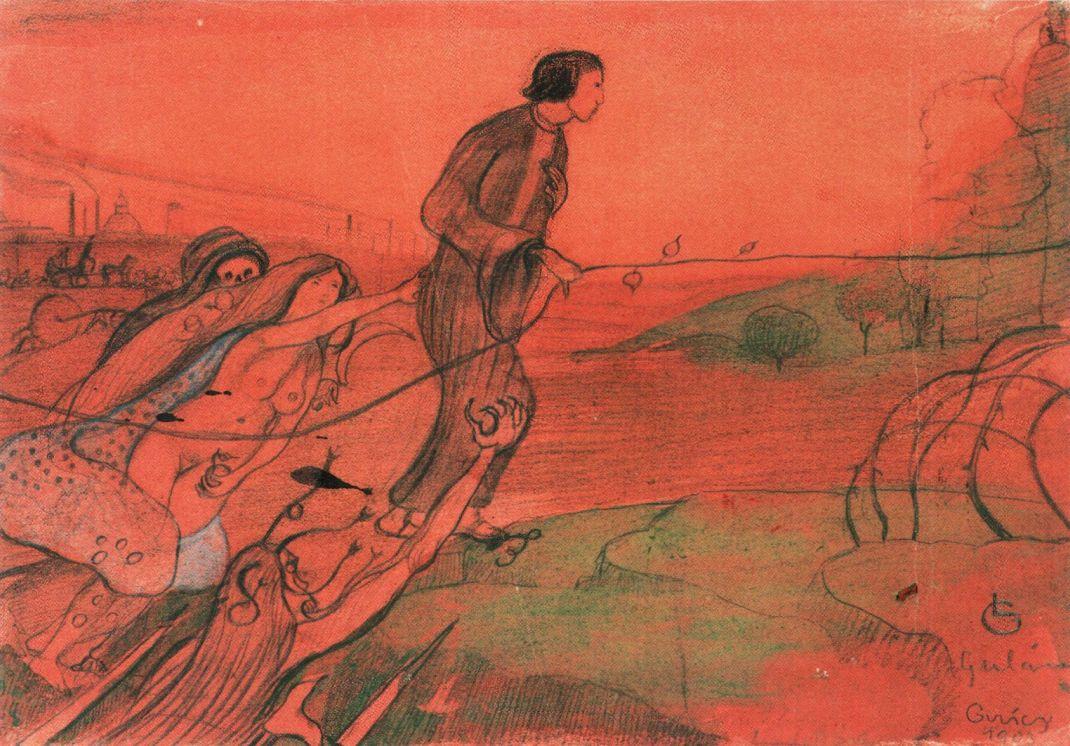 Gulácsy_Dream_1903