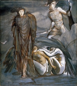 Edward_Burne-Jones_-_The_Finding_of_Medusa,_1882