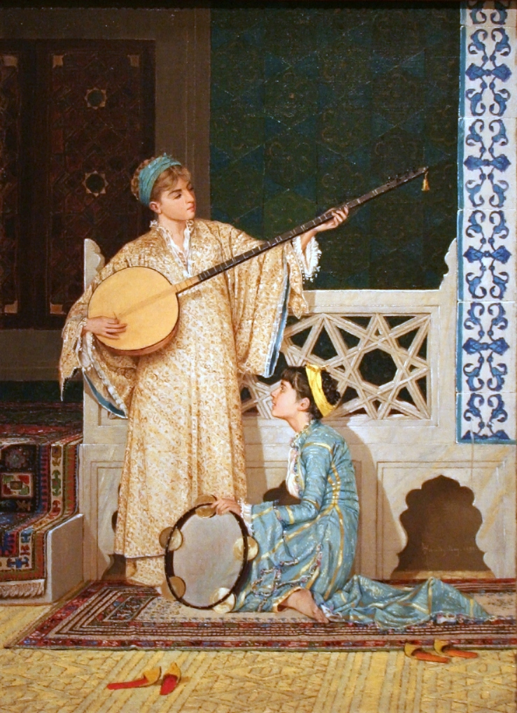 Osman_Hamdi_Bey_-_Two_Musician_Girls