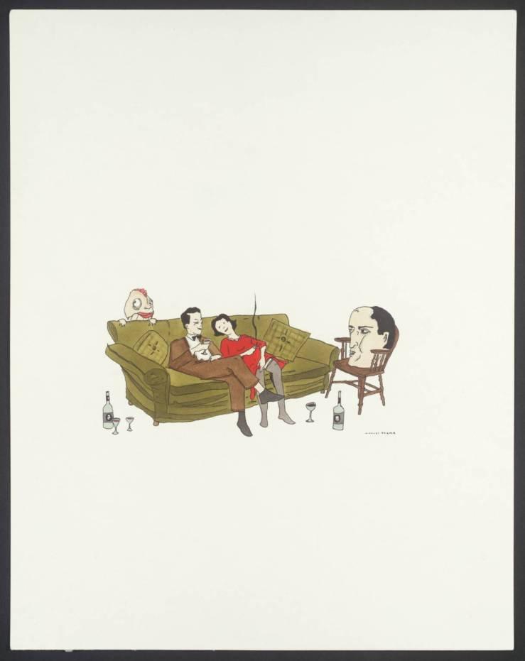 Untitled 2003 by Marcel Dzama born 1974