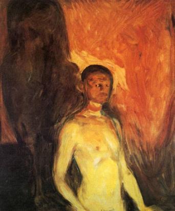 self-portrait-in-hell-1903