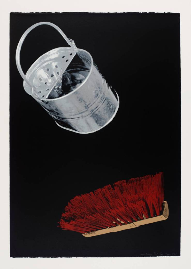 New Broom 1987 by Tim Mara 1948-1997