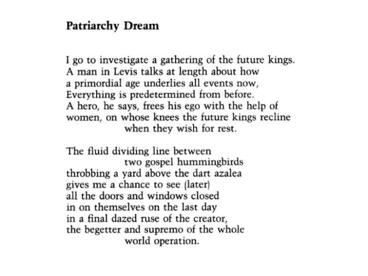 patriarchy dream