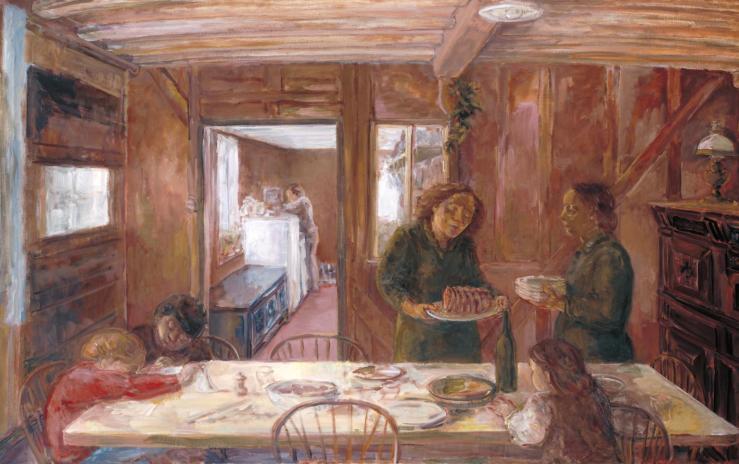 Sunday 1985-9 by John Lessore born 1939