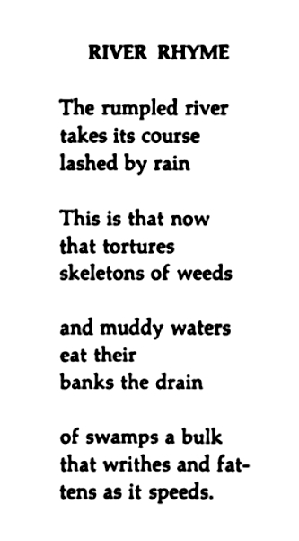 Rivers Poems 3