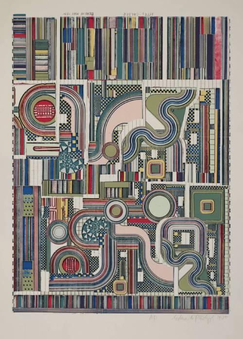 Appel-Calder 1975 by Sir Eduardo Paolozzi 1924-2005