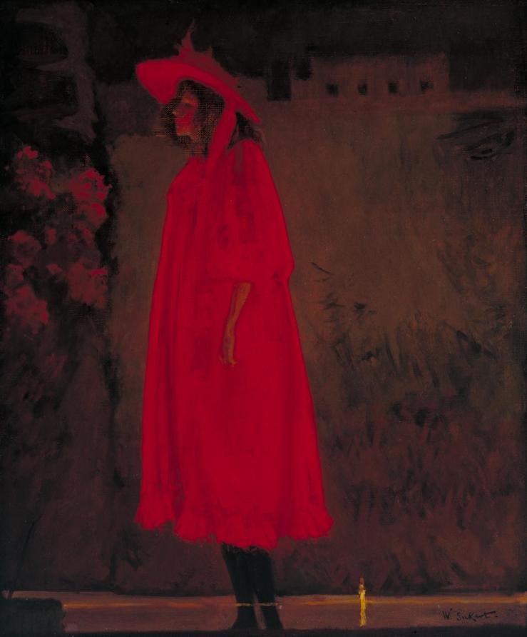 Minnie Cunningham at the Old Bedford 1892 by Walter Richard Sickert 1860-1942