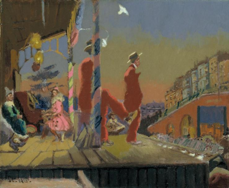 Brighton Pierrots 1915 by Walter Richard Sickert 1860-1942