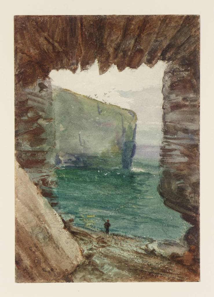 Tintagel 1862 by John William Inchbold 1830-1888