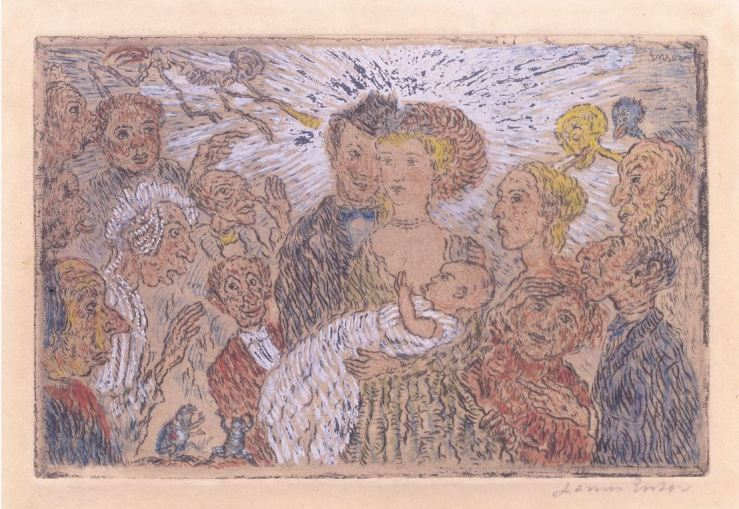 Envy 1904 James Ensor