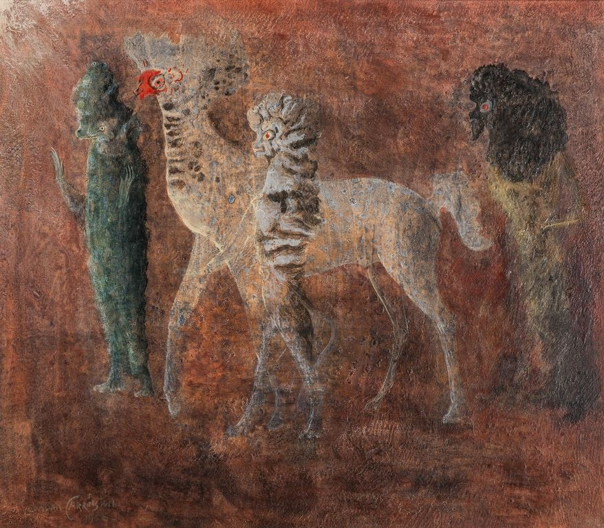 Untitled — Leonora Carrington — Biblioklept