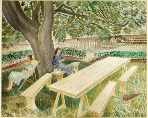 two-women-in-a-garden-1933